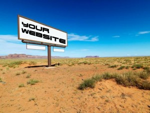 Is your website in the desert?