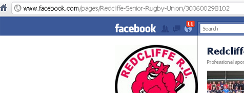 Redcliffe Senior Rugby Union on Facebook