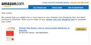 e-commerce shopping cart abandonment