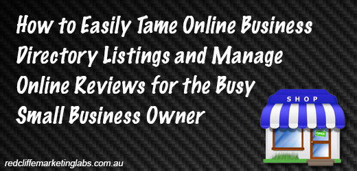 How to Easily Tame Online Business Directory Listings